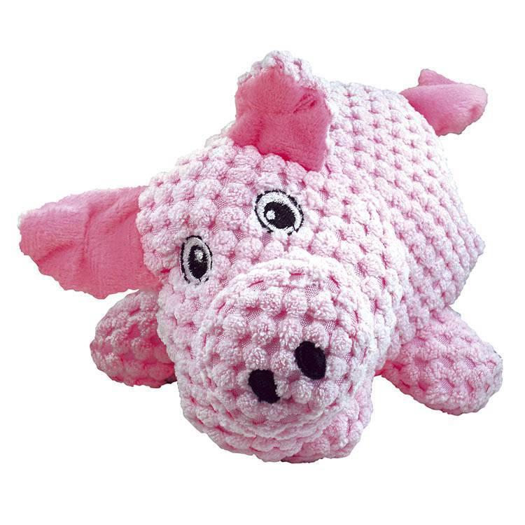 MORDEDOR PELUCIA PIG TEX ROSA