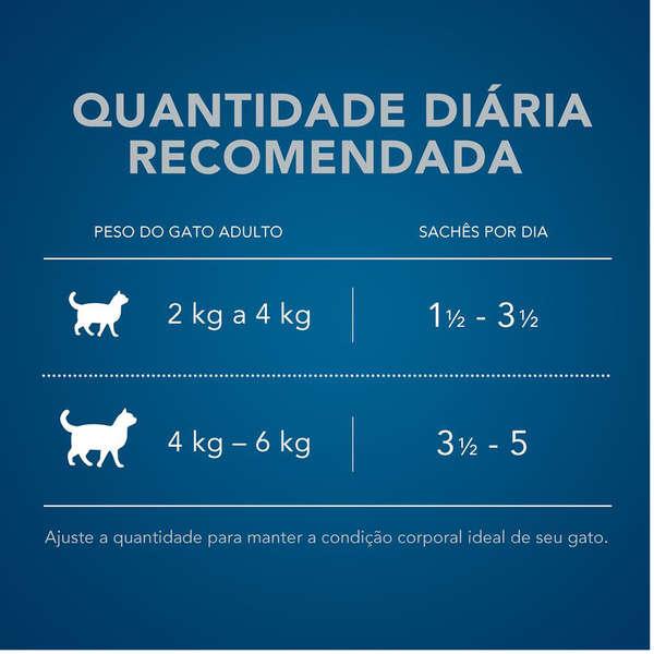 RAÇÃO ÚMIDA CAT CHOW PARA GATOS ADULTO SABOR PEIXE 85g