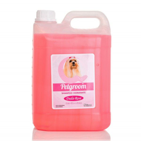 SHAMPOO DUDA ROSE PETGROOM - 5 LITROS