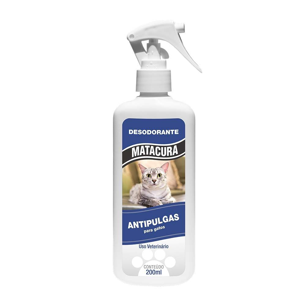 SPRAY ANTI PULGAS PARA GATOS 200ML