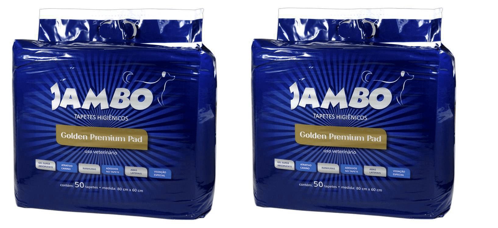 Tapete Higienico Golden Premium 80CM X 60CM - 100 unidades