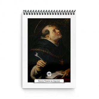 Bloco de Anotações - Santo Tomás de Aquino