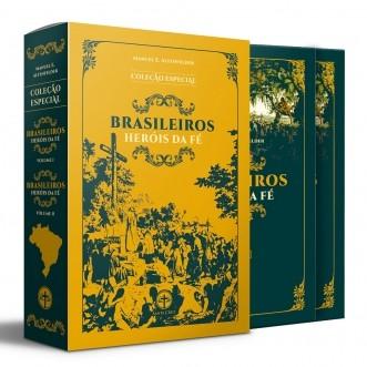 BOX Brasileiros Heróis da Fé (2 vols.) (BLACK FRIDAY)