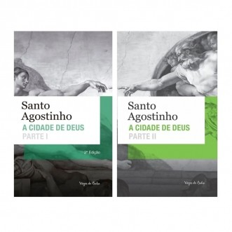 Combo - A Cidade de Deus (2 vols.) - S. Agostinho