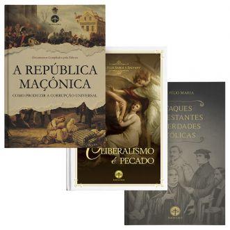 Combo Defesa da Igreja (3 livros) + Frete Grátis