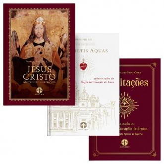 Combo Sagrado Coração de Jesus (3 livros)