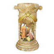 Imagem Sagrada Família com Luz e Música - 22 cm