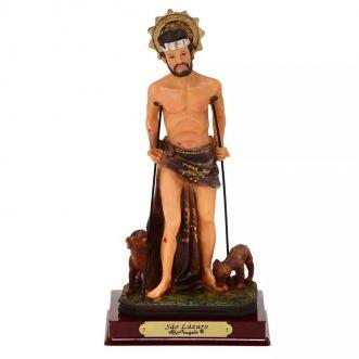 Imagem São Lázaro - 13 cm (Coleção Antigue)