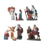 Imagem Trajetória Sagrada Família (8 peças - 20 cm)