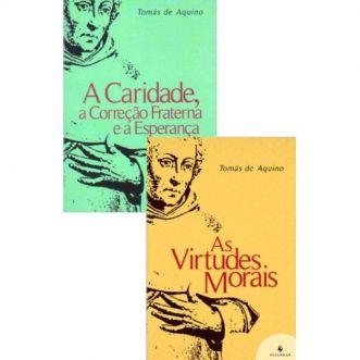 KIT - Questões Disputadas sobre a Virtude - S. Tomás de Aquino (2 livros)
