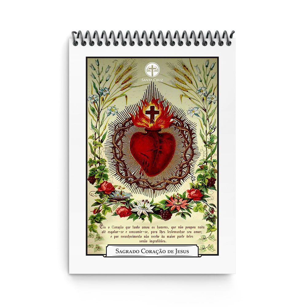 Bloco de Anotações - Sagrado Coração de Jesus