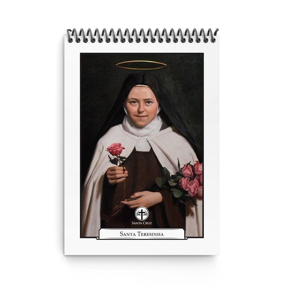 Bloco de Anotações - Santa Teresinha