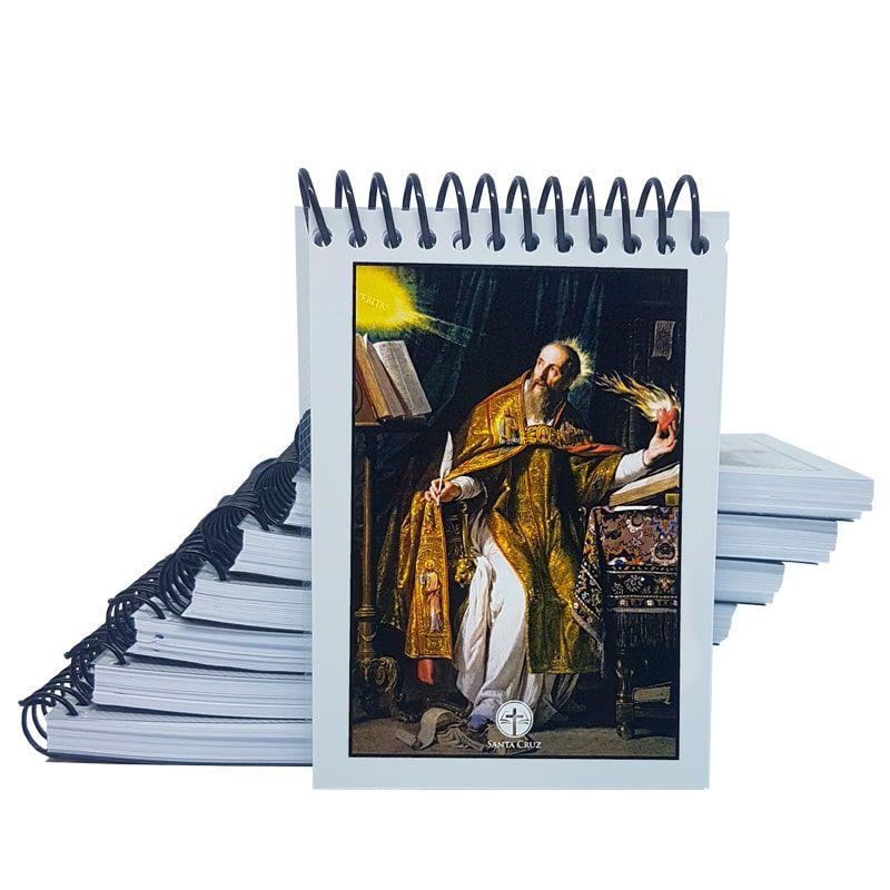 Bloco de Anotações - Santo Agostinho