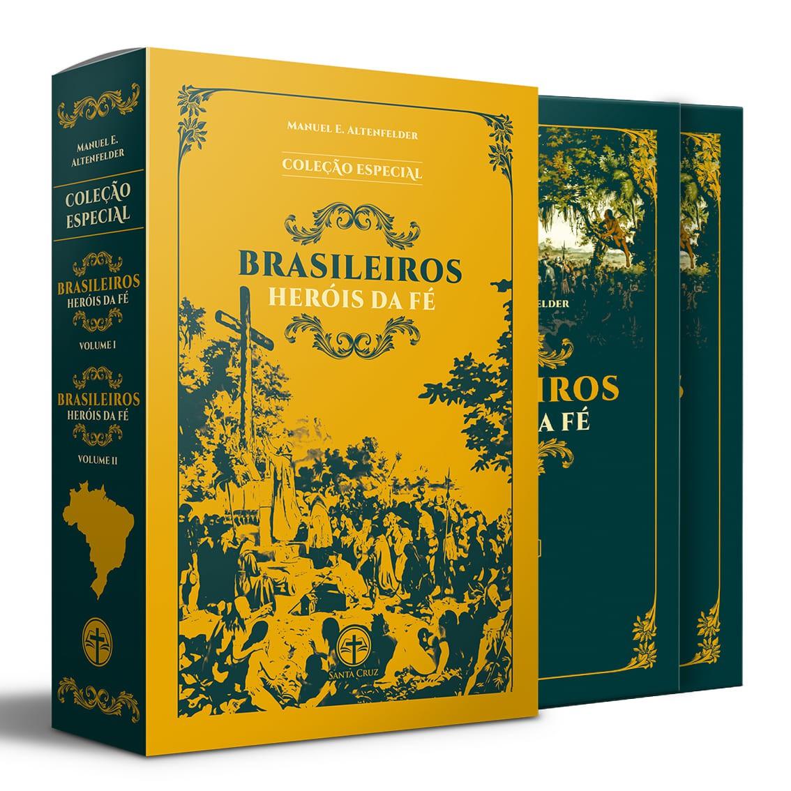 BOX Brasileiros Heróis da Fé (2 vols.)