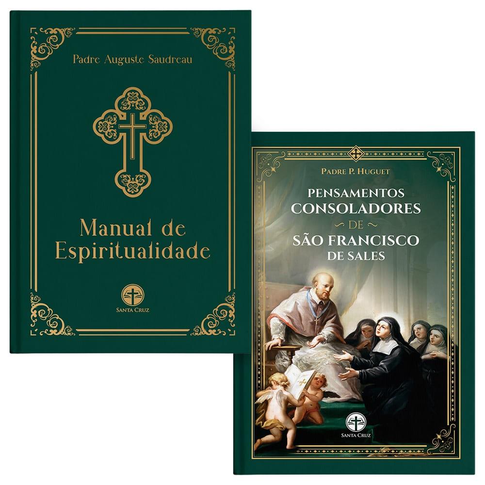 Combo Espiritualidade (Pensamentos Consoladores + Manual de Espiritualidade + Marcador Exclusivo)