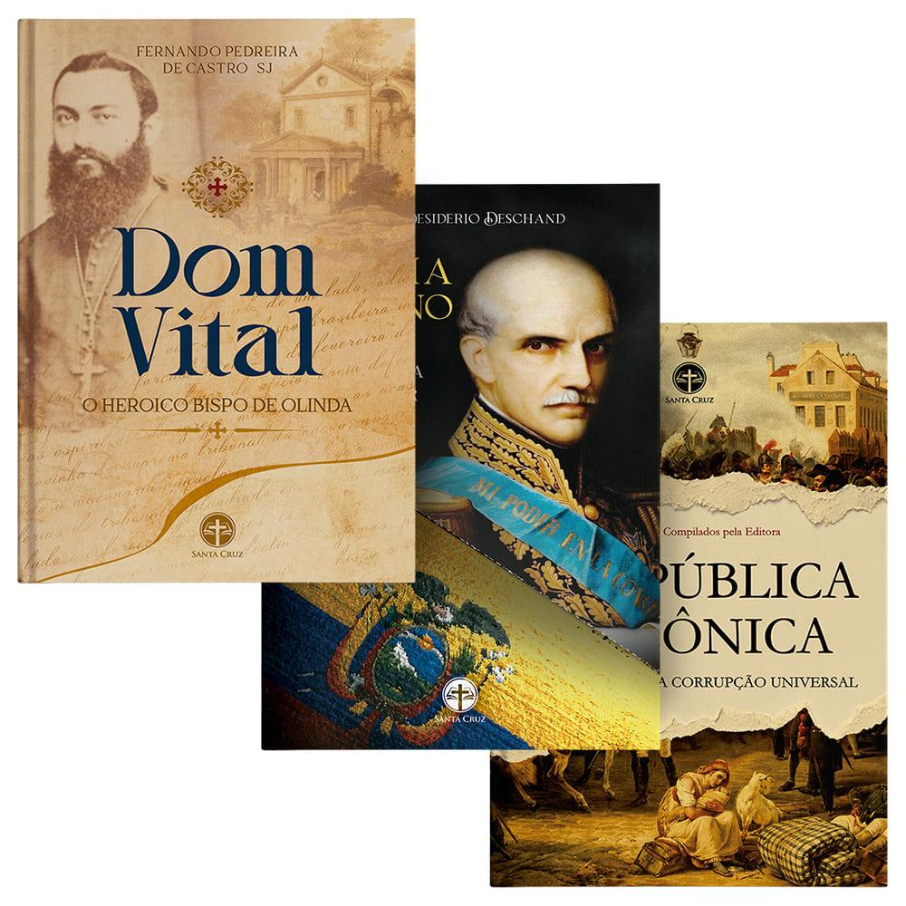 Combo Heróis Católicos + A República Maçônica (3 Livros)