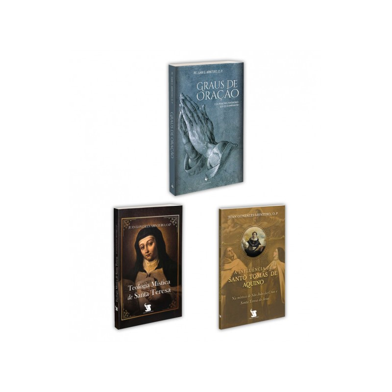 Combo - Pe. Arintero (3 Livros)