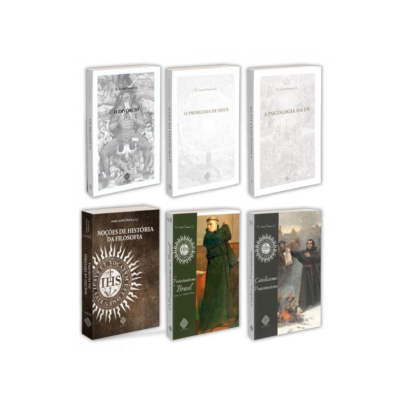 Combo - Pe. Leonel Franca (6 Livros)