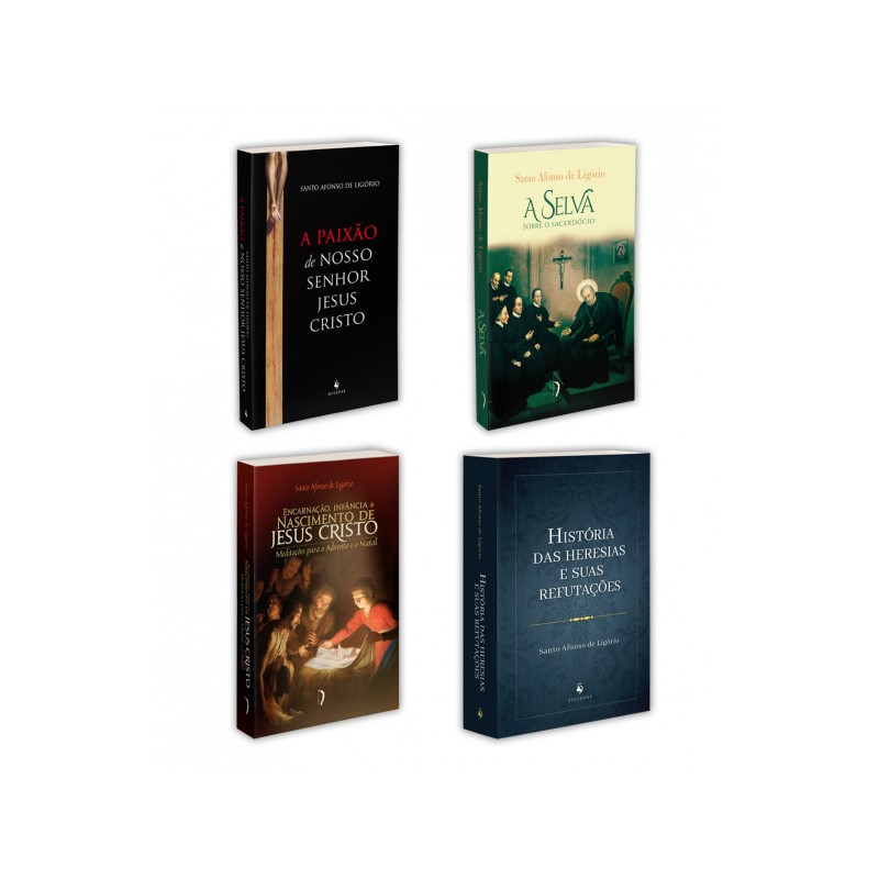 Combo - Santo Afonso de Ligório (4 Livros)