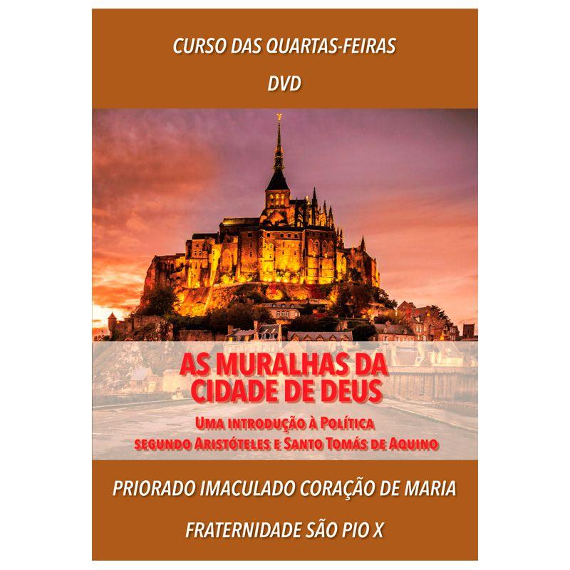 DVD - As Muralhas da Cidade de Deus - FSSPX