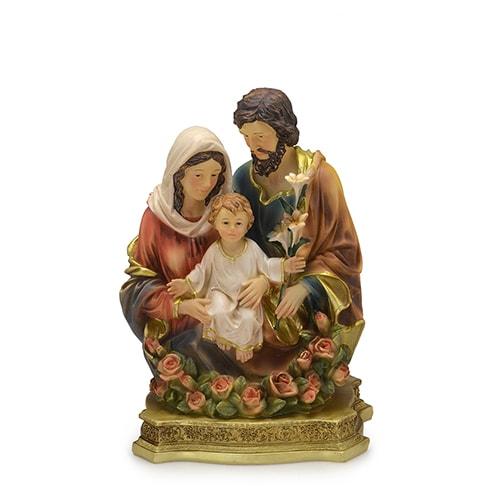 Imagem Busto Sagrada Família - 20 cm