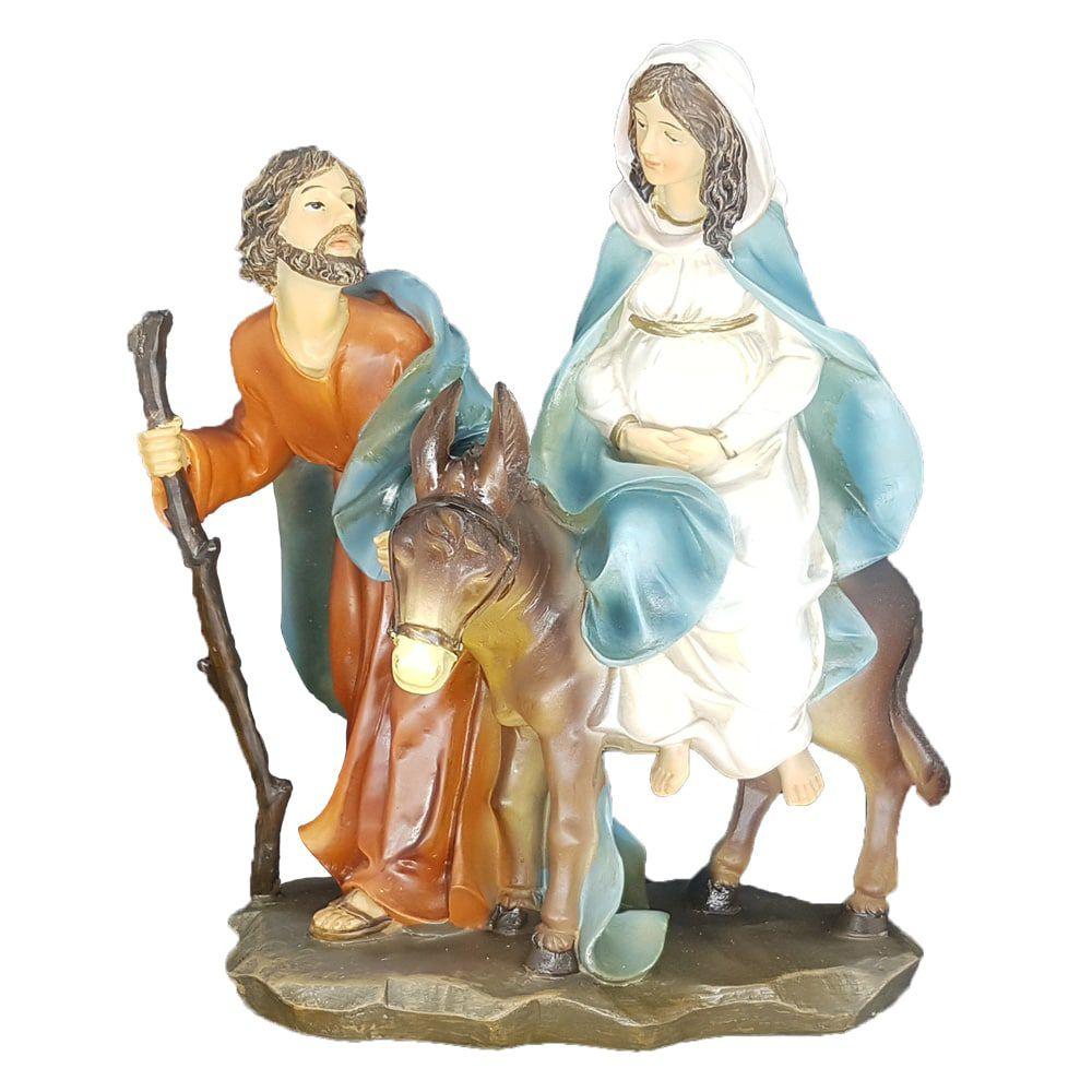 Imagem Sagrada Família a caminho de Belém