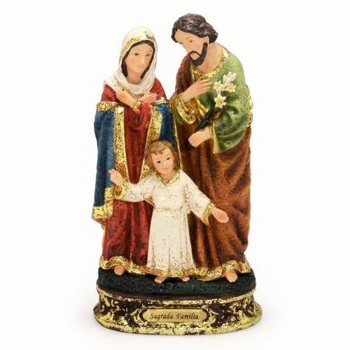 Imagem Sagrada Família (Coleção Bernini)