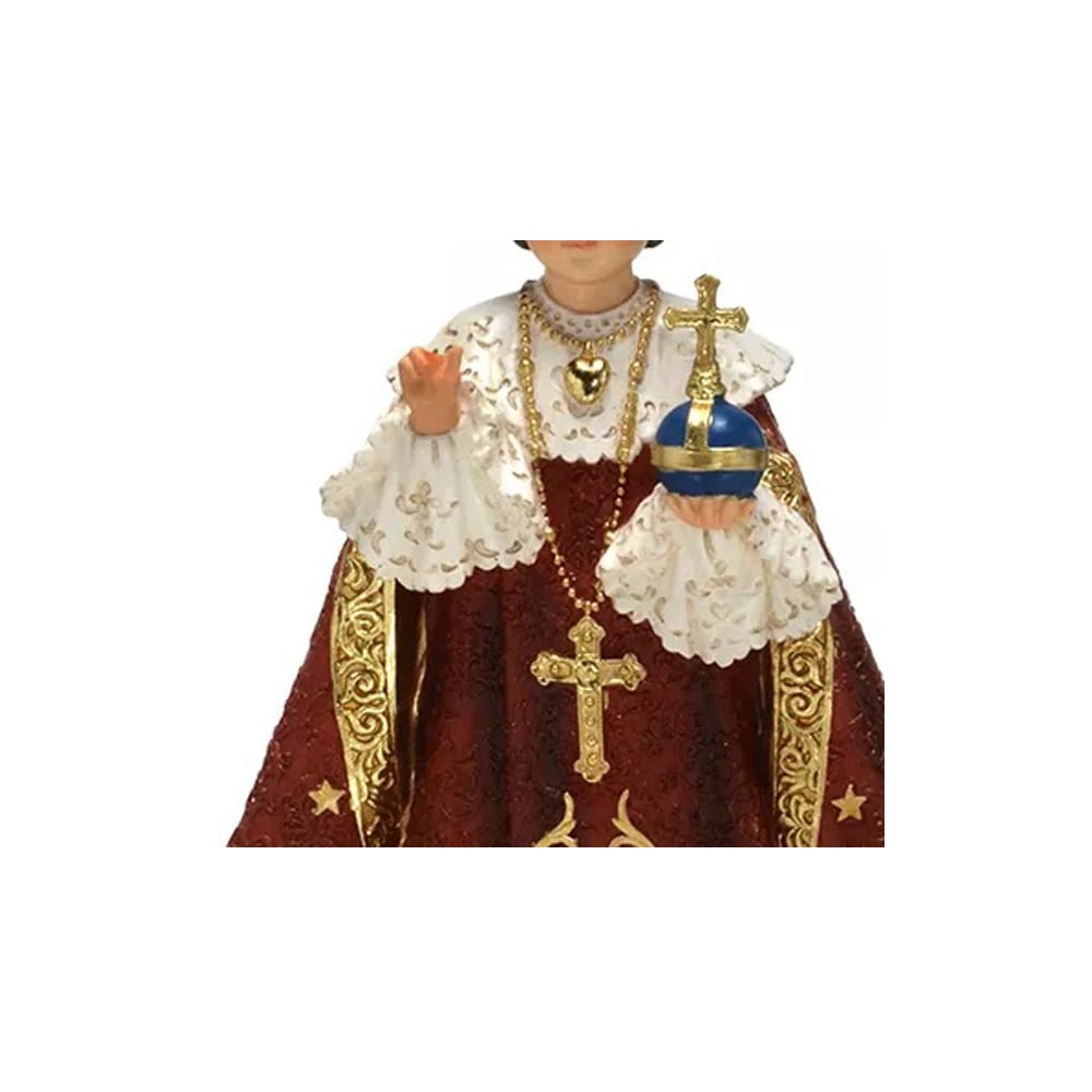 Imagem Menino Jesus de Praga (Coleção Bernini)