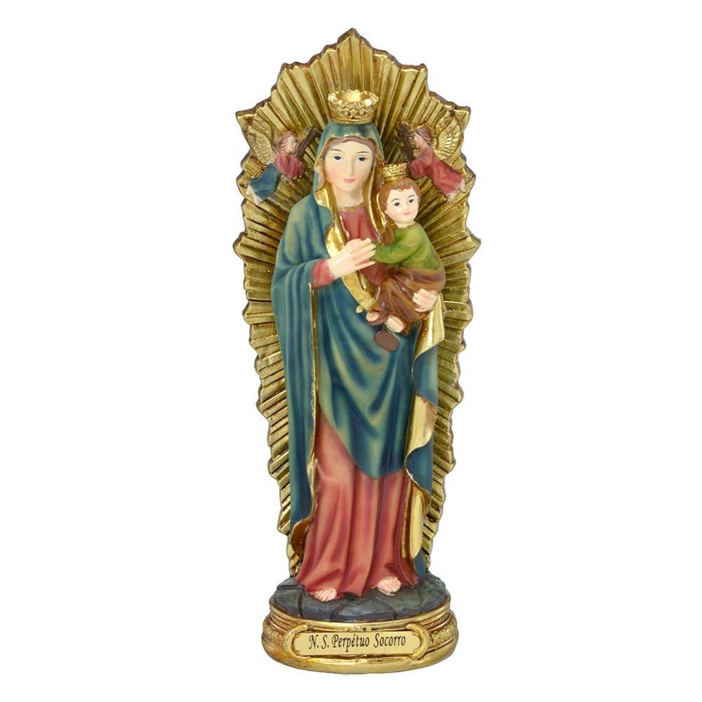 Imagem Nossa Senhora do Perpétuo Socorro - 20 cm (Coleção Florence)