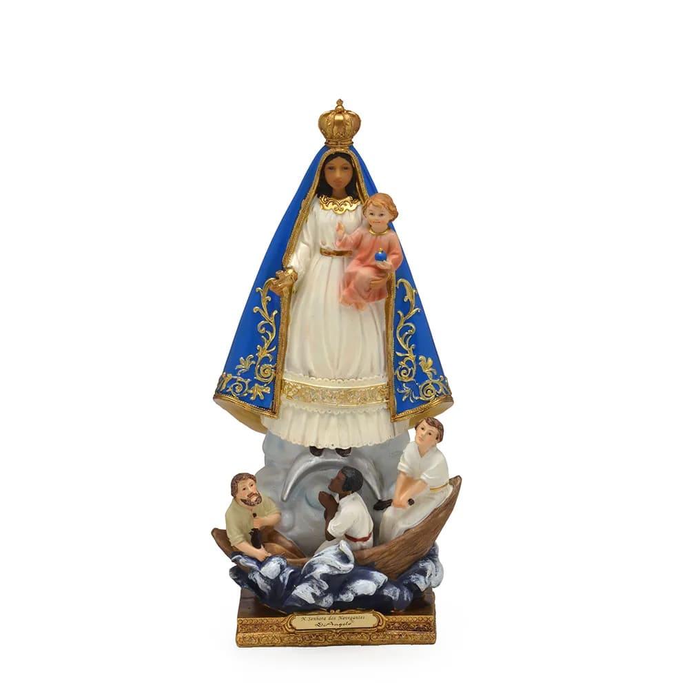 Imagem Nossa Senhora dos Navegantes - 13 cm (Coleção Florence)