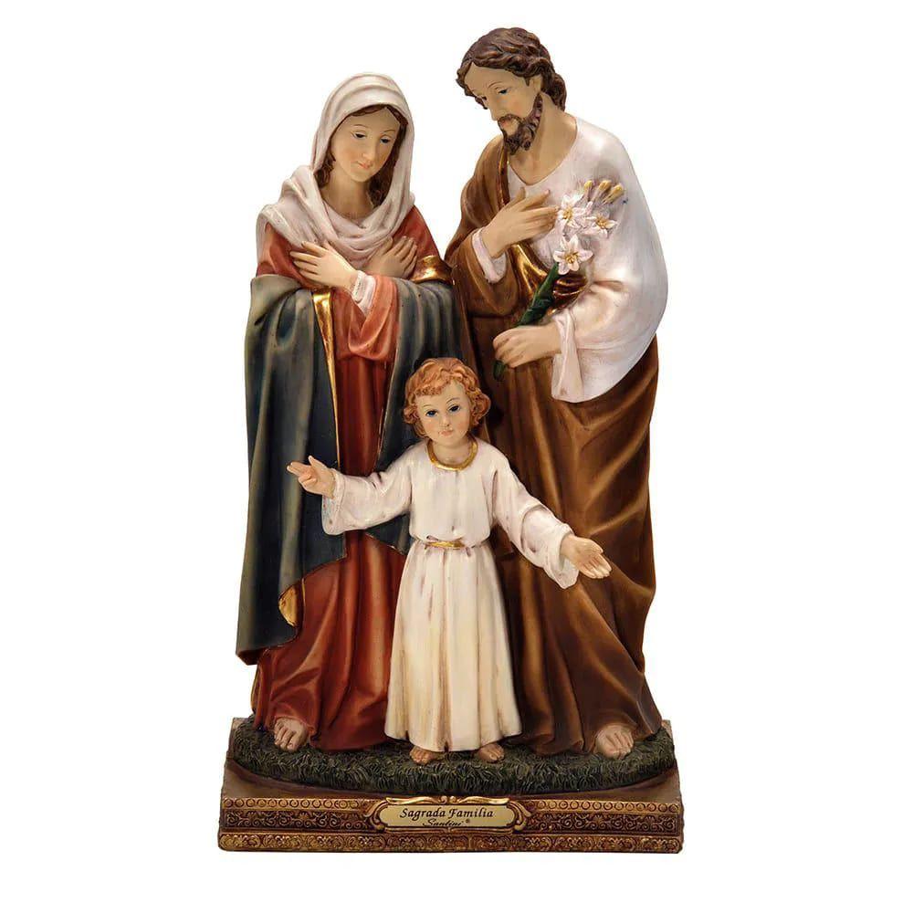 Imagem Sagrada Família - 20 cm (Coleção Florence)