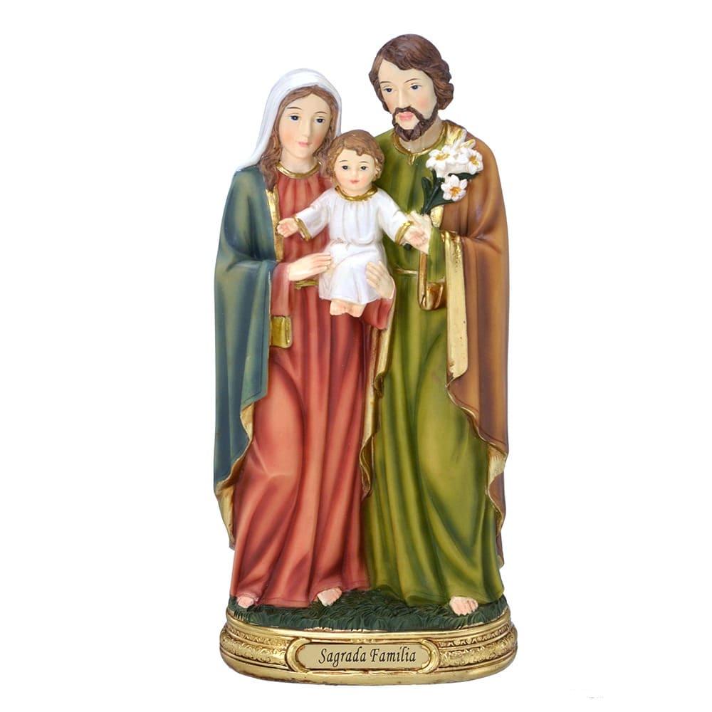 Imagem Sagrada Família Menino Jesus no Colo - 30 cm (Coleção Florence)