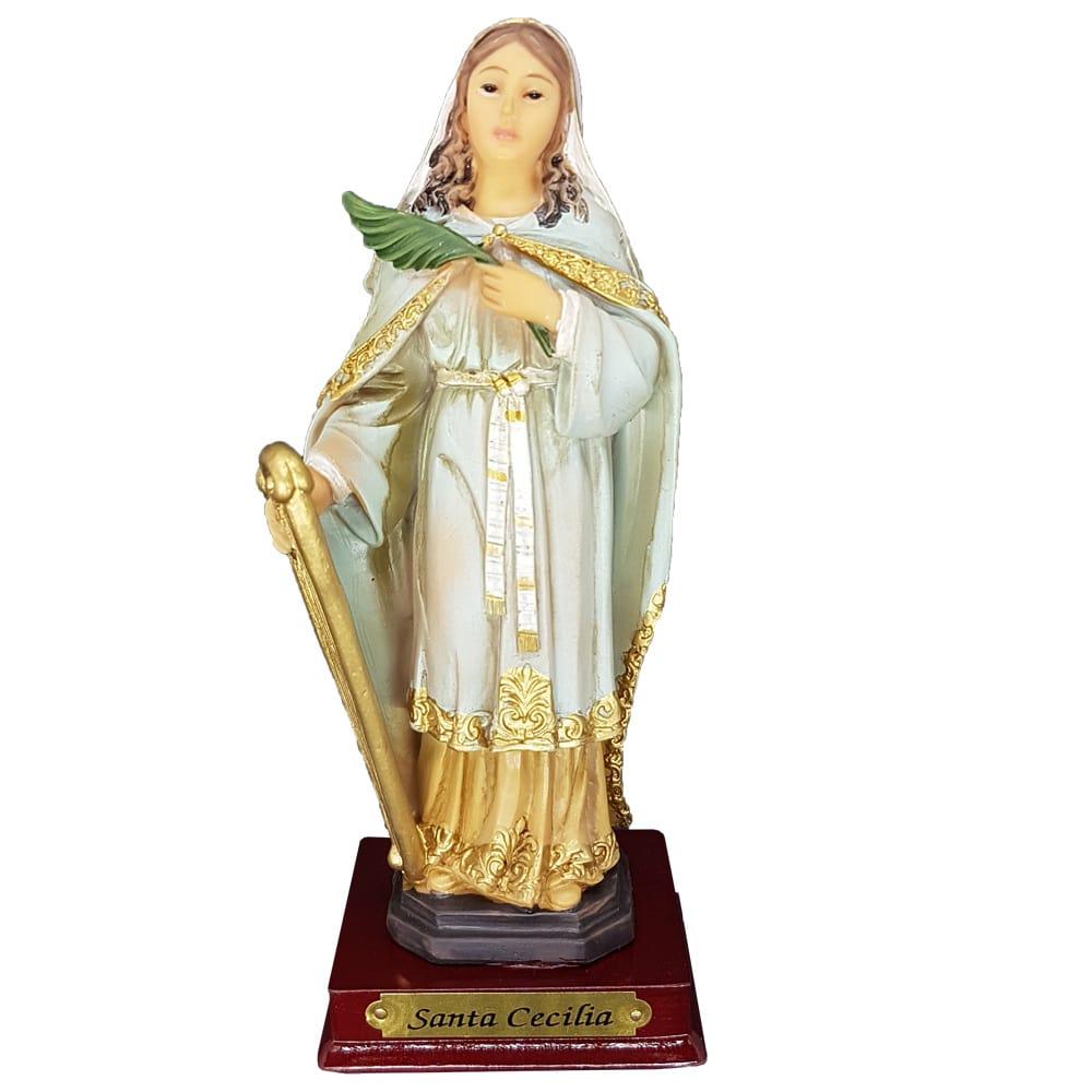 Imagem Santa Cecília (Coleção Antigue)