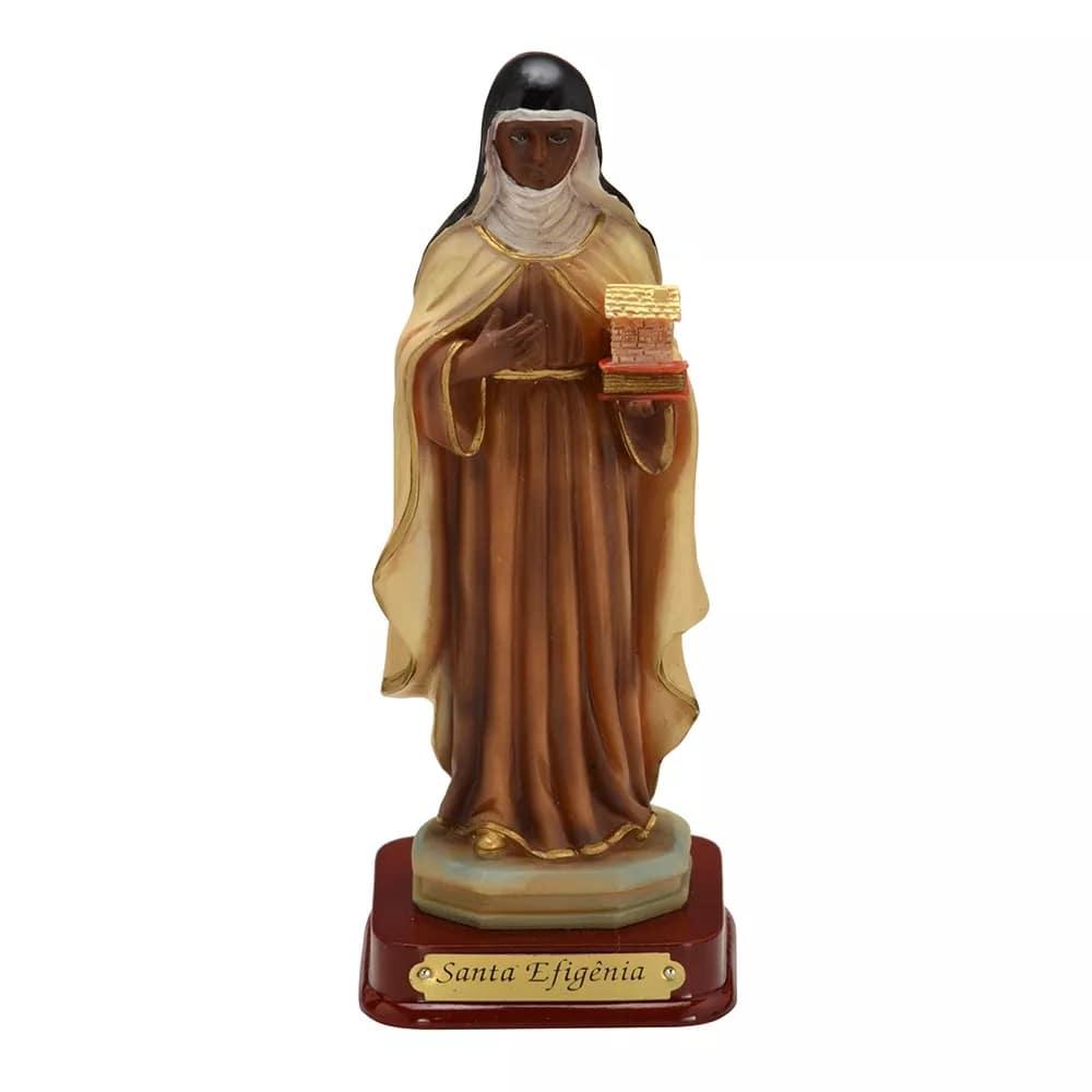 Imagem Santa Efigênia (Coleção Antigue)
