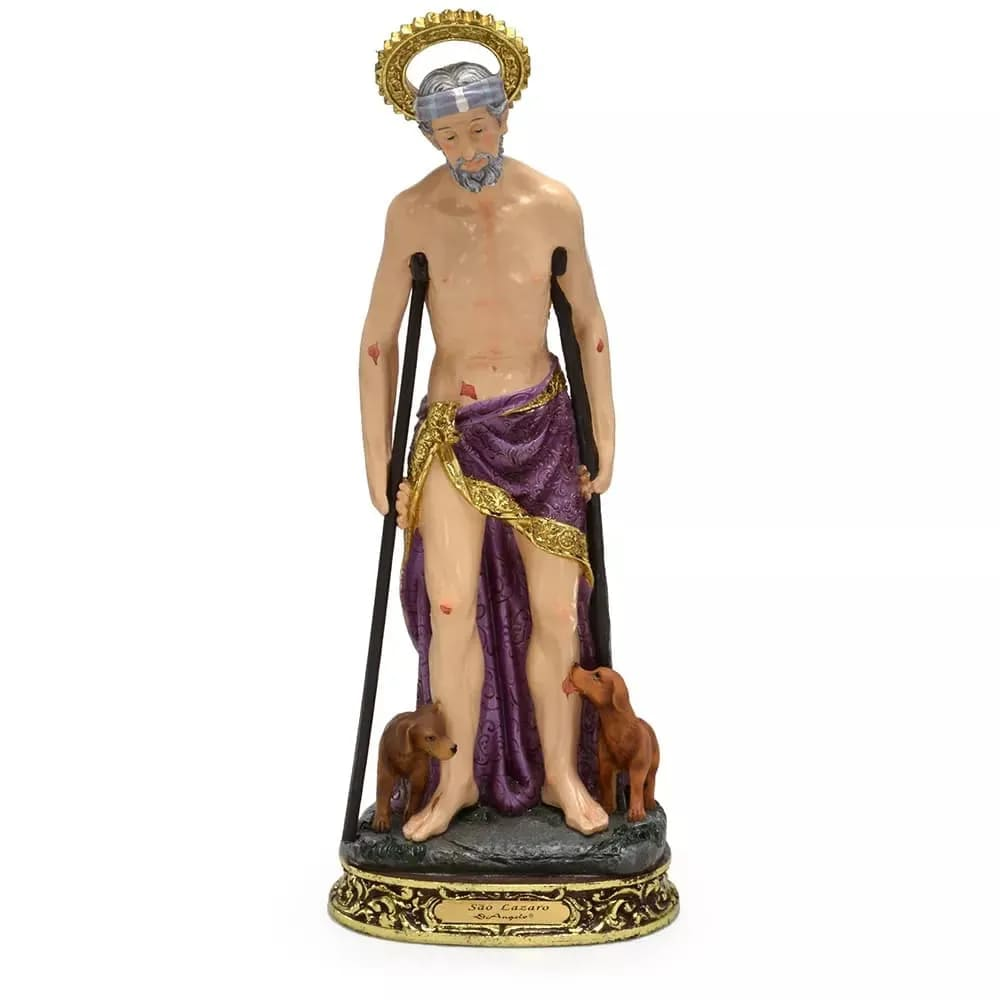 Imagem São Lázaro - 13 cm (Coleção Bernini)