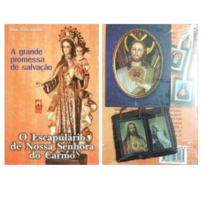 KIT - Escapulário de Nossa Senhora do Carmo