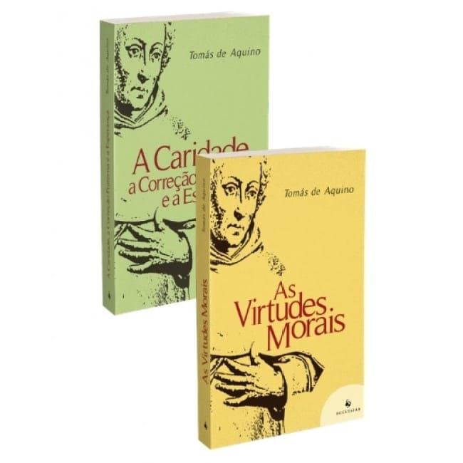 Combo - Questões Disputadas sobre a Virtude (2 livros)