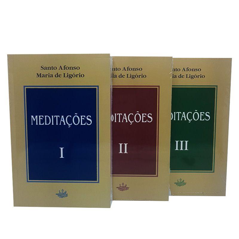 Meditações (3 vols.) - S. Afonso Maria de Ligório