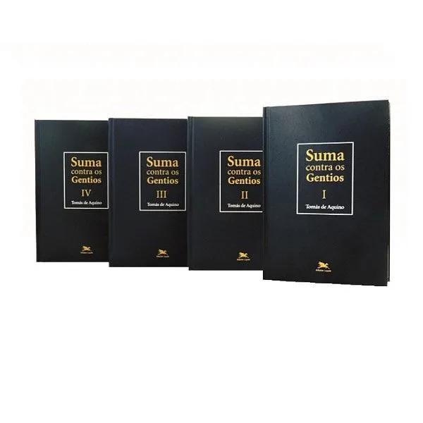 Suma Contra os Gentios - (4 Vols.) - S. Tomás de Aquino