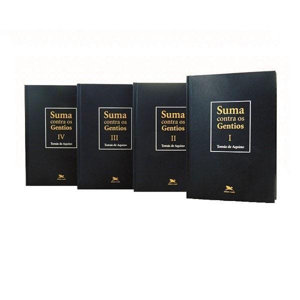 Suma Contra os Gentios - S. Tomás de Aquino (Coleção 4 vols.)