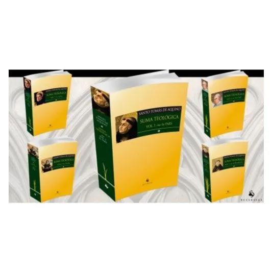 Suma Teológica - (5 Vols.) - S. Tomás de Aquino