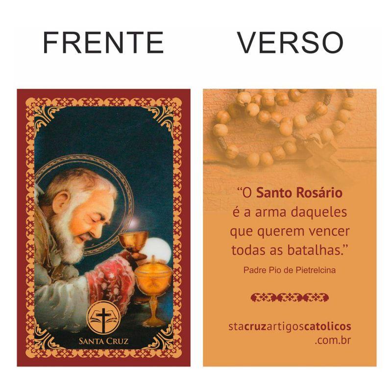 TAG Padre Pio - 8 x 5 cm