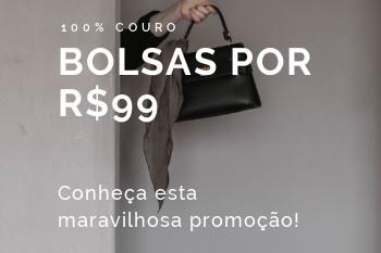 compre bolsas por r$99