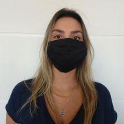 Máscara De Proteção Tecido 100% Algodão Lavável KIT com 5 unidades