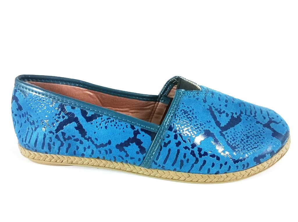 Alpargata TopGrife Suede Cellar Azul  - SAPATOWEB.COM