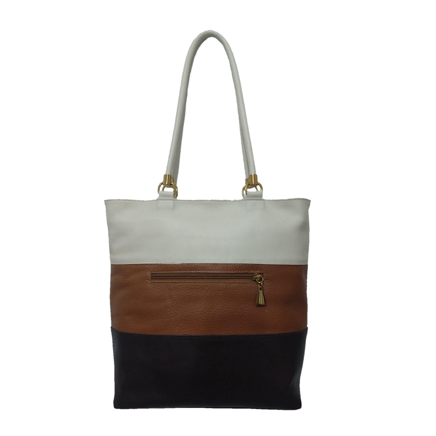 Bolsa Sacola TopGrife Shopper Couro Multicolorido  - SAPATOWEB.COM