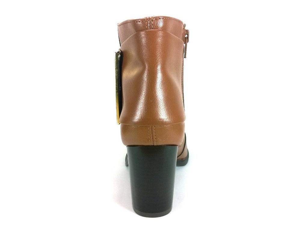 Bota Cano Curto RR Shoes Match Caramelo  - SAPATOWEB.COM
