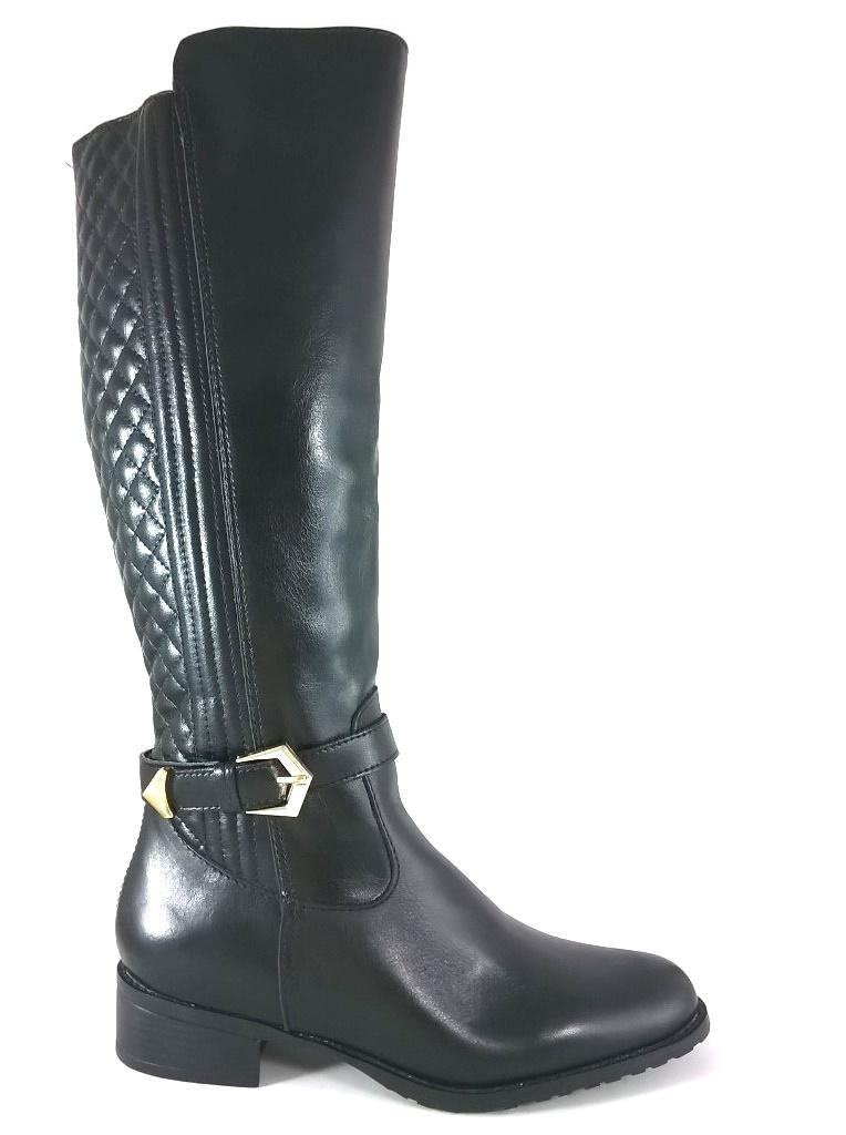 Bota Montaria RR Shoes Couro Legítimo Matelassê Preto  - SAPATOWEB.COM