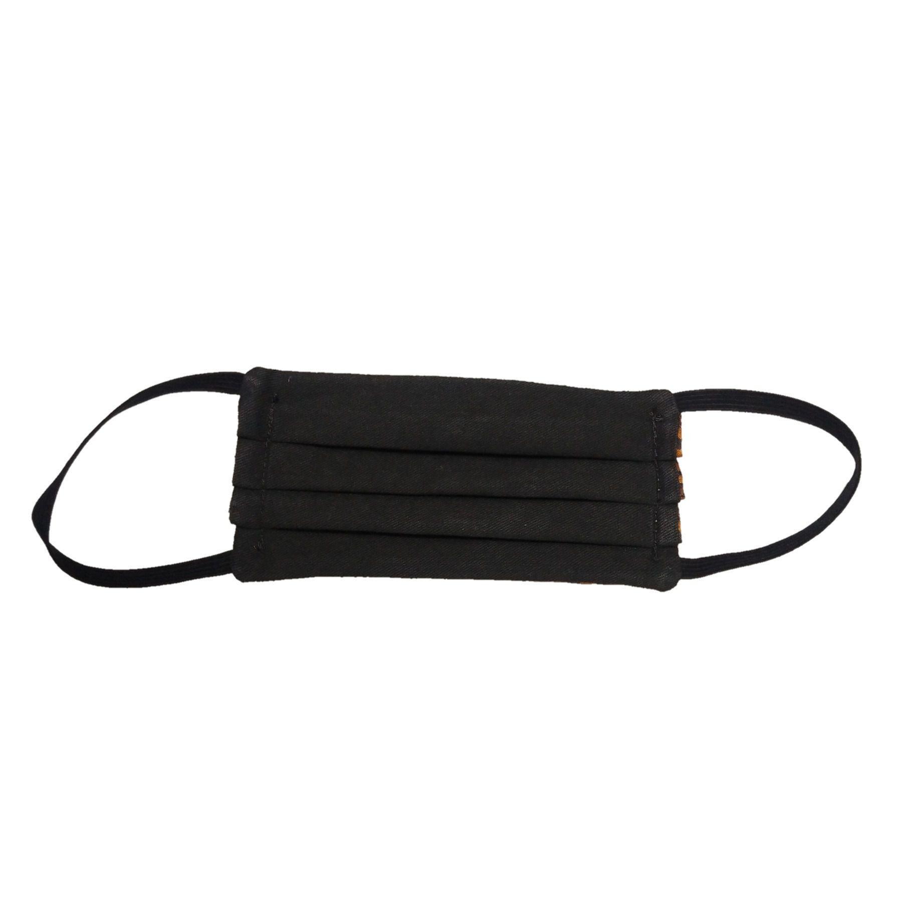 Kit com 10 Máscaras De Proteção Tecido Lavável Reversível Onça e Preto  - SAPATOWEB.COM
