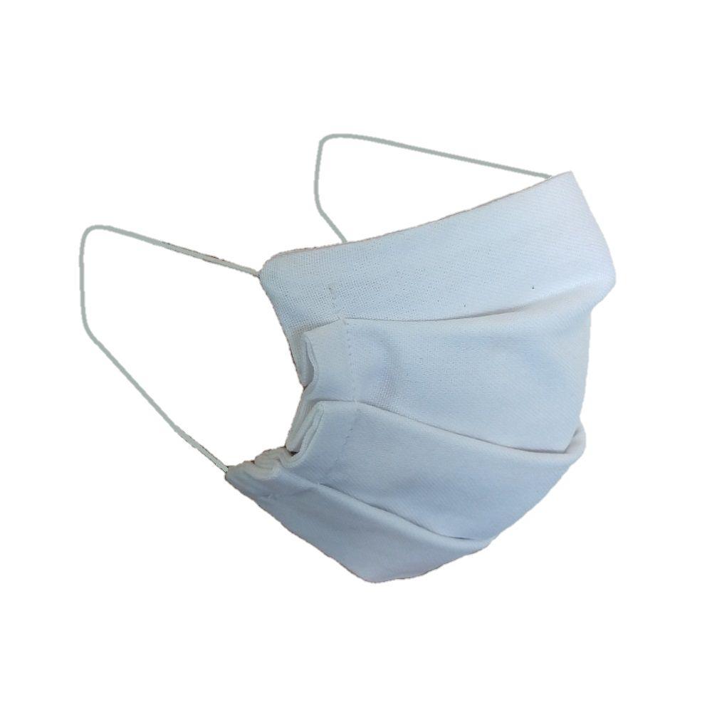 Kit com 5 Máscaras De Proteção Tecido 100% Algodão Lavável  - SAPATOWEB.COM